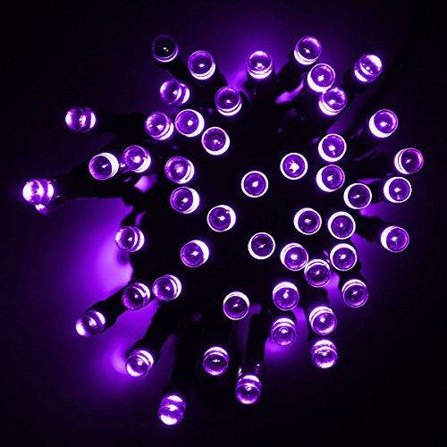 Solar String Lights, GLISTENY Holiday String Lighting Out...