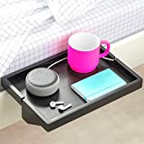 BedShelfie The Original Bedside Shelf - 9 Colors / 2 Sizes - AS SEEN ON Business Insider (Regular Size, Black)