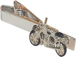 Indian Skull Biker Motorcycle Wedding Work Suit Tie Bar Clip