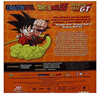 Dragon Ball Dragon Ball Z Las Películas Colección Completa DVD: Amazon.es: Animación, Varios, Animación: Cine y Series TV