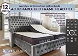 Sven & Son Split King Adjustable Bed Base Frame