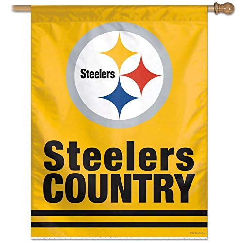 Pittsburgh STEELERS COUNTRY Football Flag or Banner New