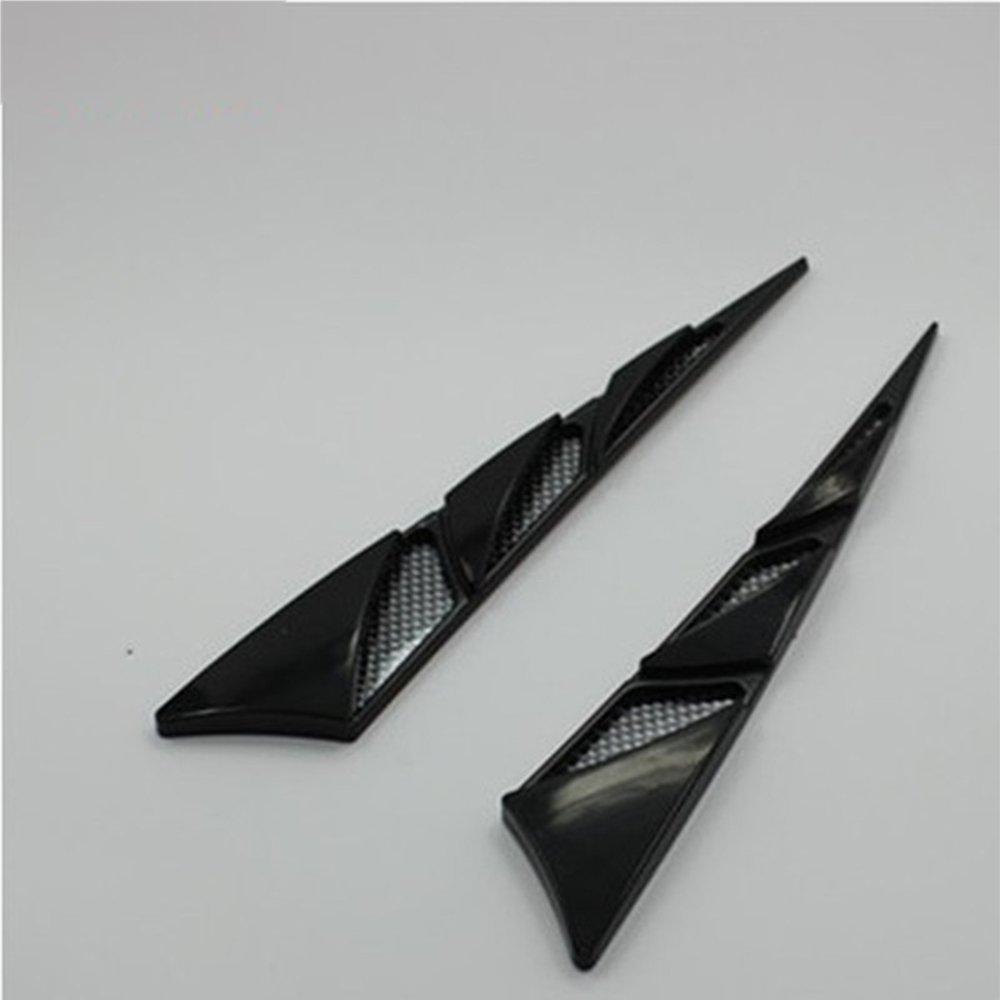 Soccik - Prese d' aria adesive per auto, hood scoop universale decorativo per auto
