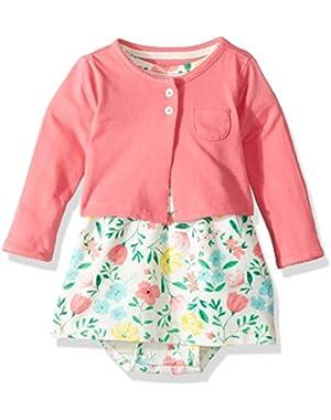 Baby Girls' 2 Piece Floral Dress Set
