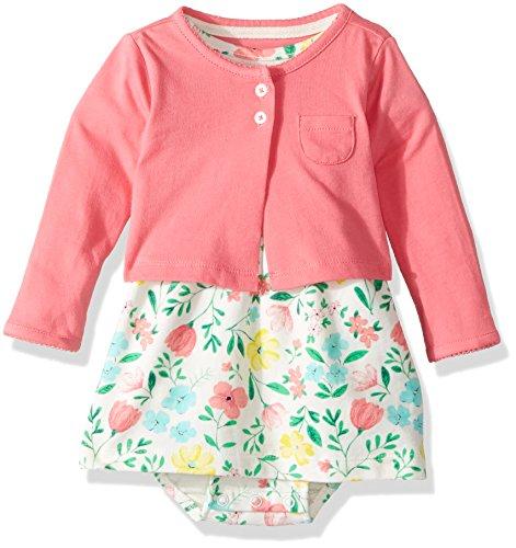 Carters Girls Piece Floral Dress