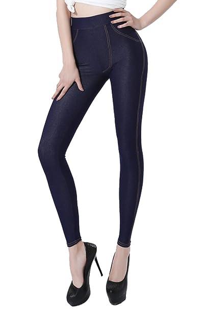 Amazon.com: Sipaya - Leggings de cintura alta para mujer ...