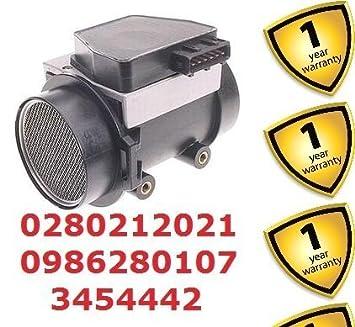 Volvo 740 940 440 460 480 Turbo 440 460 480 740 940 masa flujo de aire Medidor 0280212021 0986280107 3454442: Amazon.es: Coche y moto
