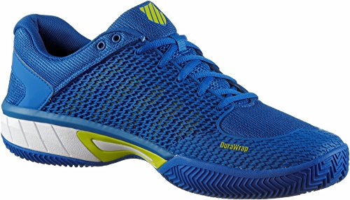 K-SWISS Zapatillas de tenis de Hombres sandplatz Express Claro HB  STRONG blue-white-neon Cidra