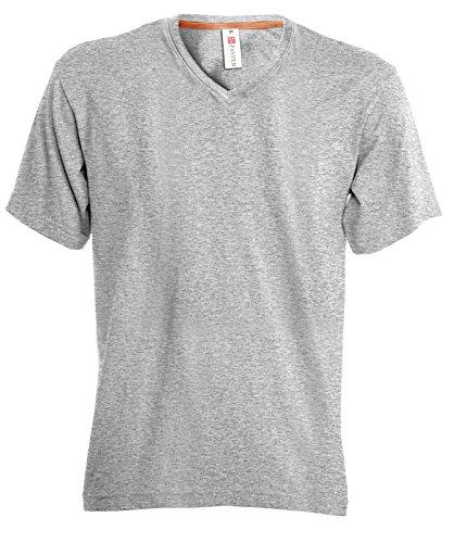 5 Magliette V Uomo Melange Lavoro Pacchetto shirt V 5x neck Prezzo Chemagliette Payper Scollo Stock T Da 5ATqnX