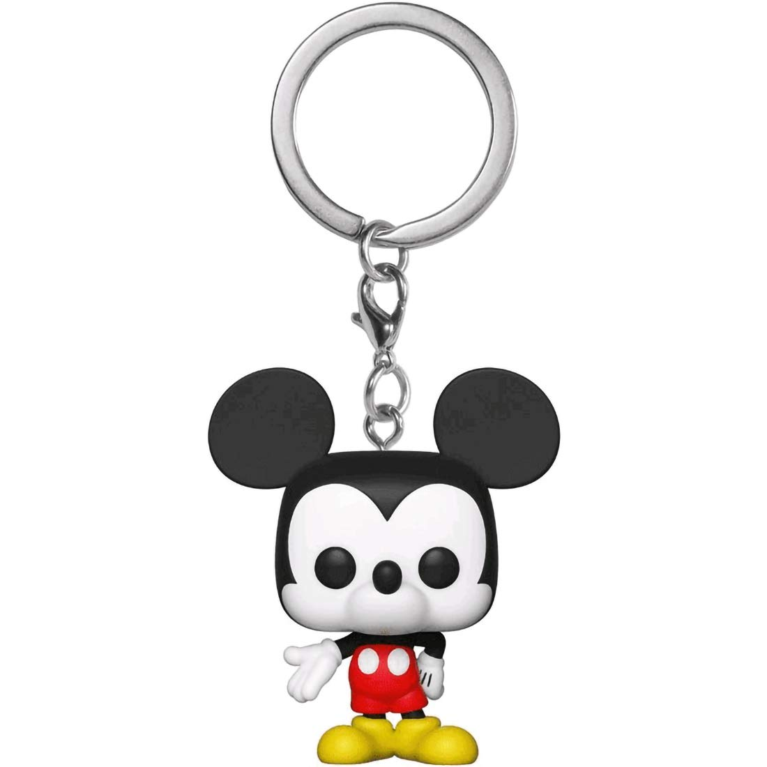 Mickey Mouse: Mickeys 90th Anniversary x Funko Pocket POP! Mini-Figural Keychain + 1 Classic Disney Trading Card Bundle [32568]