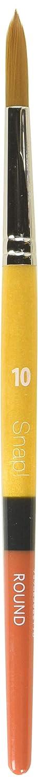 Princeton Snap! 9650R-10 Taklon Round 10 Brush, Gold