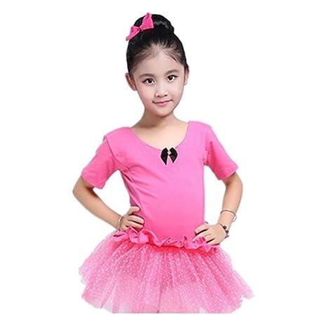 Faldas de danza para niña, Bebés, mangas cortas, tutú, ballet ...