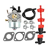 Harbot 801396 Carburetor with Fuel Filter Line Valve for Briggs and Stratton 801233 801255 Toro Power Clear R-TEK 2 Cycle CCR2400 CCR2450 CCR2500 CCR3000 CCR3600 CCR3650 Snowblower