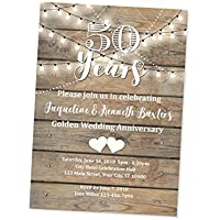 amazon com anniversary invitations stationery handmade products