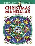 Creative Haven Christmas Mandalas Coloring Book (Creative Haven Coloring Books)