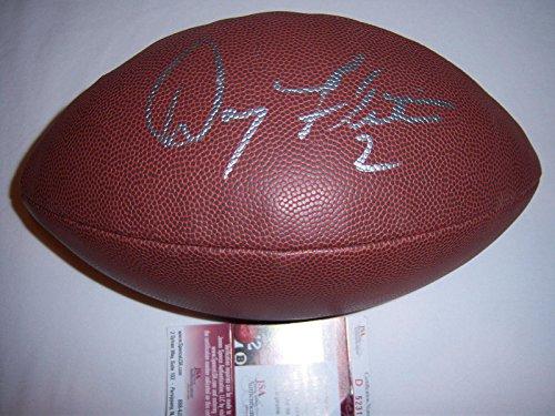 Doug Flutie Signed Football - Boston College coa - JSA Certified - Autographed Footballs (Football Flutie Signed Doug)
