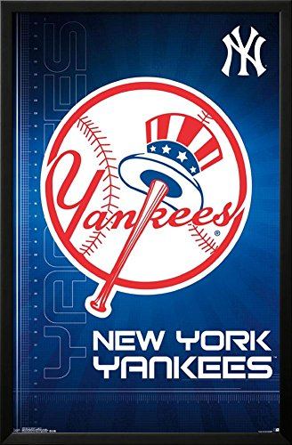 New York Yankees- Logo 2016 Lamina Framed Poster