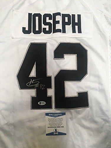 on sale b3ec7 91f75 Karl Joseph (Oakland Raiders) Autographed Jersey - Replica ...