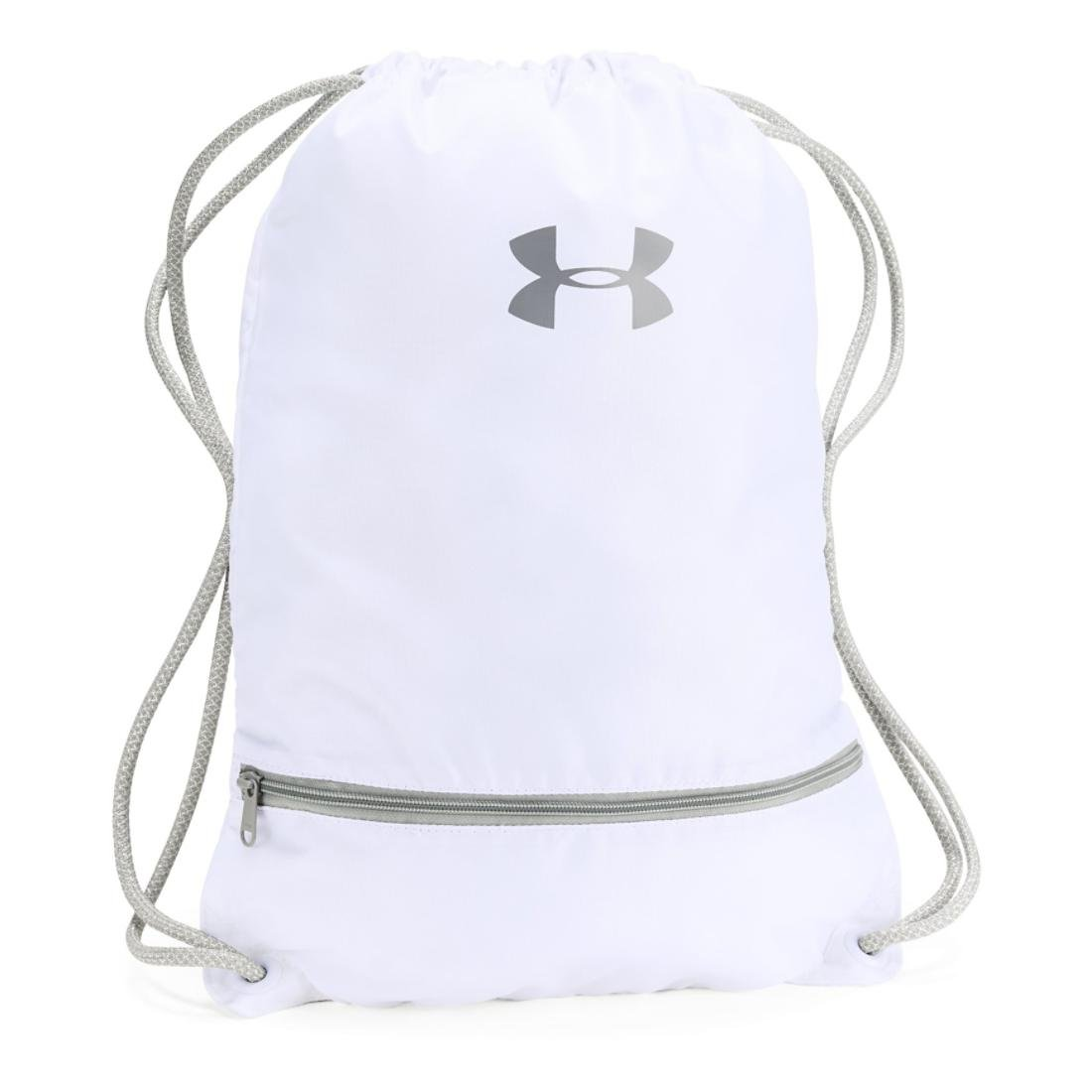 Under Armour Team Sackpack (White/Silver/Steel)