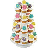 Wilton 307-856 4-Tier Stacked Cupcake and Dessert Tower