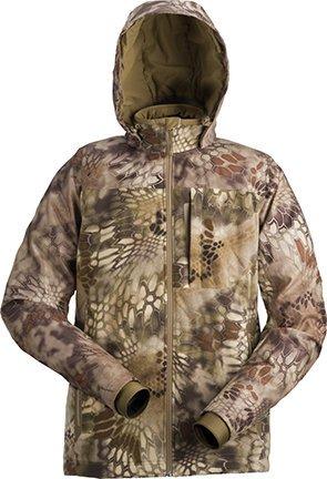 Kryptek Mens Vellus Jacket, Highlander, Extra - Active Fleece Duck Jacket
