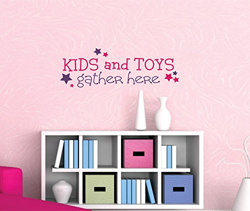 Kids and Toys Gather Here Wall Decal - SF