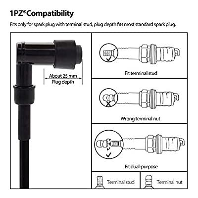 1PZ IC3-001 Ignition Coil for Honda TRX-300 FourTrax 1988 1989 1990 1991 1992 1993 1994 1995 1996 1997 1998 1999 2000: Automotive