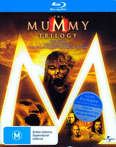 The Mummy Trilogy (The Mummy + The Mummy Returns + The Mummy - Tomb of the Dragon Emperor) (3 Discs) Blu-ray