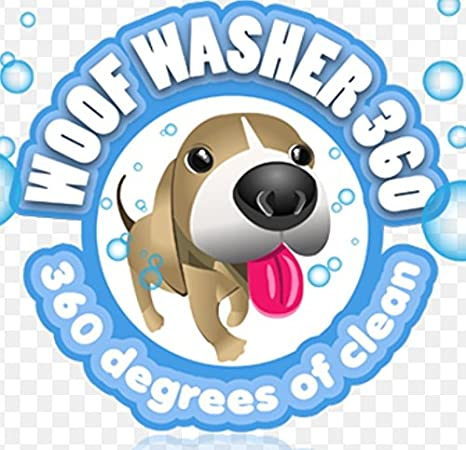 amazoncom woof washer 360 by bulbhead perfect dog washing station for your dog pet supplies - Hundedusche Ring