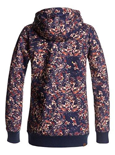 Femme Printed Bleu Shirt Sweat Frost Roxy waterleaf Peacoat x1ZfUgIqWw