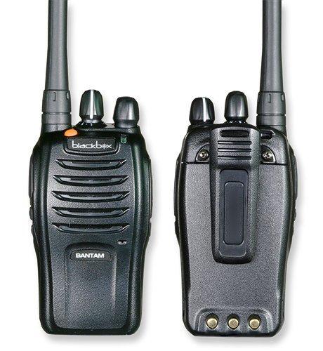 Klein Electronics BANTAM-U-M1 Blackbox Bantam UHF 2-Way Radio with Motorola Connector Jack; Compact, Rugged, Full Power Radio; 16 Channel; 4 watts/2 watts RF power; Scanning; Voice Channel Enunciation