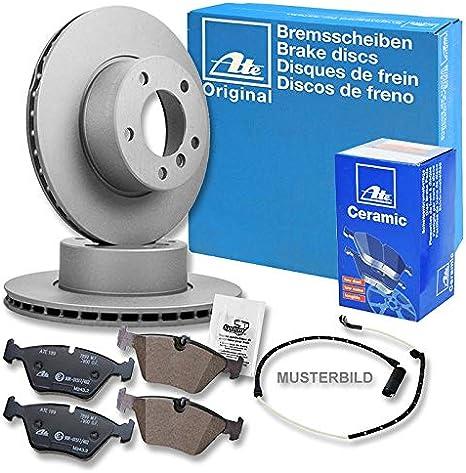 Original Ate Brake Discs Ceramic Brake Pads Brake Pads Warning Contact Brake Set Brake Set Brake Set Brake Kit Brake Brake Brake Brake Set Kit Kit Diameter 300 Front Auto