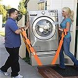 2Pcs 2Inch Furniture Moving Belt Team Straps Adjustable Mover Easier Lifting Conveying Belt