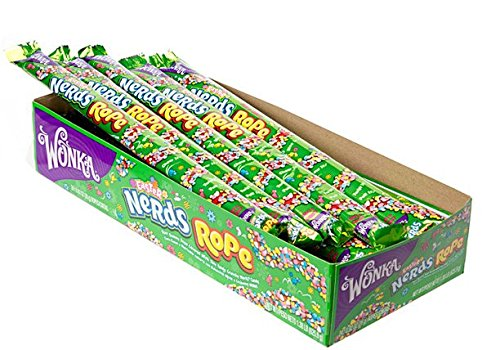 (Wonka Nerds Rope, Easter Edition, 0.92 Ounce, 24)