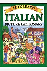 Let's Learn Italian Picture Dictionary Hardcover