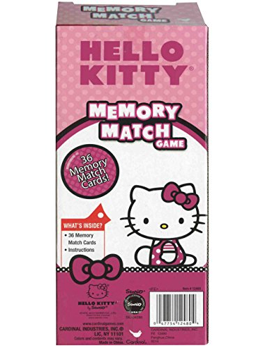 (1 X Hello Kitty Memory Match Game by)