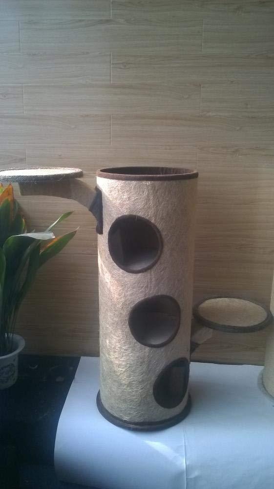 Hexiansheng Cat Climb Trees Pet Supplies Super big cat bucket cat house 39  39  103cm Plush