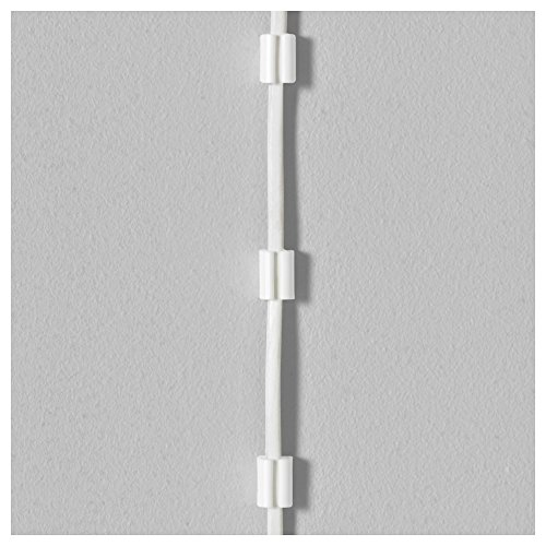 Ikea Cable Management Bundle Includes - Two Ikea Signum Cable Management Horizontal (Silver, 27 ½'') and One Ikea Fixa (114 Piece Cable Management Set) by IKEA (Image #4)