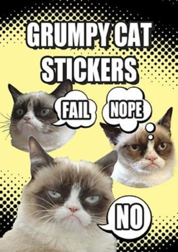 Grumpy Cat Stickers (World Whisker Kitty)