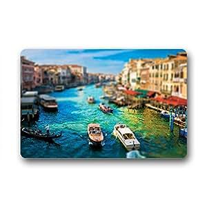 """Custom Italy Venice Landscape Doormat Outdoor Indoor 18""""x30"""" about 46cmx76cm"""