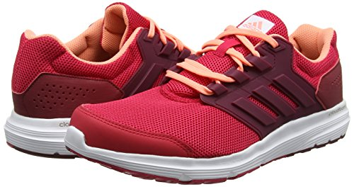 Rouge Burgundy Pink Glow Collegiate Course 4 Competition Chaussures De Sun Pour Femme Adidas Galaxy energy 48qx7Uw