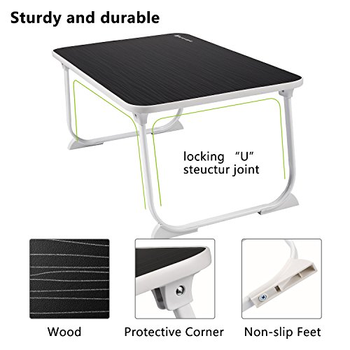Stupendous Large Lap Desk Bed Tray Nnewvante Laptop Table Desk Foldable Uwap Interior Chair Design Uwaporg