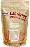 Mom's Original Milk Making Aids Cinnamon Vanilla Lactation Smoothie Mix (That May Help Boost Milk Production for Breastfeeding Mothers) with Galactogogues