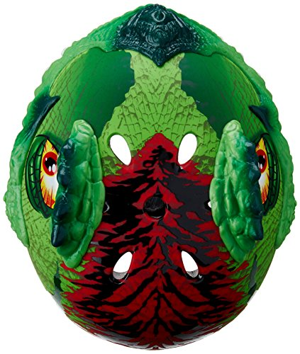 Raskullz 2015 Boy/'s T-Rex Awesome 5 50-54cm Kids//Youth Bicycle Helmet Green