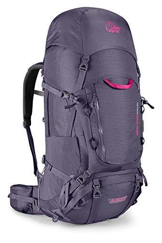 Lowe Alpine Womens Backpack - Lowe Alpine Cerro Torre ND60:80 Backpack Women's - Aubergine