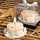 Starfish Design Favor Saver Candle Favors, 72