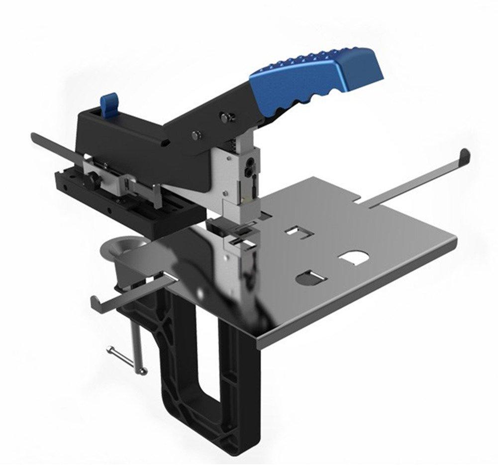 SH-04 Professional Manual Dual Flat Riding Nail Saddle Stitch Stapler Binding Machine