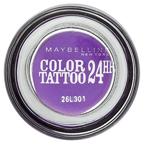 Gemey Maybelline Eye Studio Colour Tattoo 24 H Eye Shadow 15 Endless Purple by Maybelline