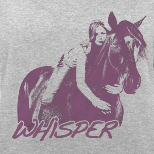 Spreadshirt shirt Bio Femme Embrasse Cheval Whisper Équitation Mika Sweat Chiné 3 Gris SxrSHqwC