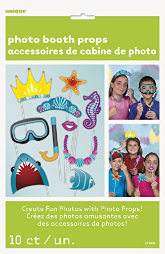 Under The Sea Photo Booth Props, (Decoration Booth Ideas)